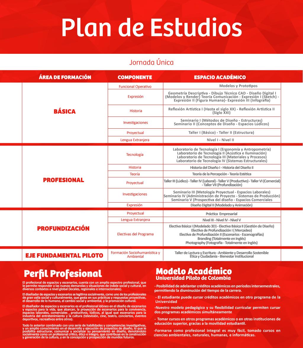 Universidad piloto de colombia dise o de espacios y for Programas de diseno de espacios