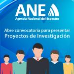 ANE abre convocatoria para presentar proyectos de investigación