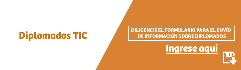 Link para formulario diplomados