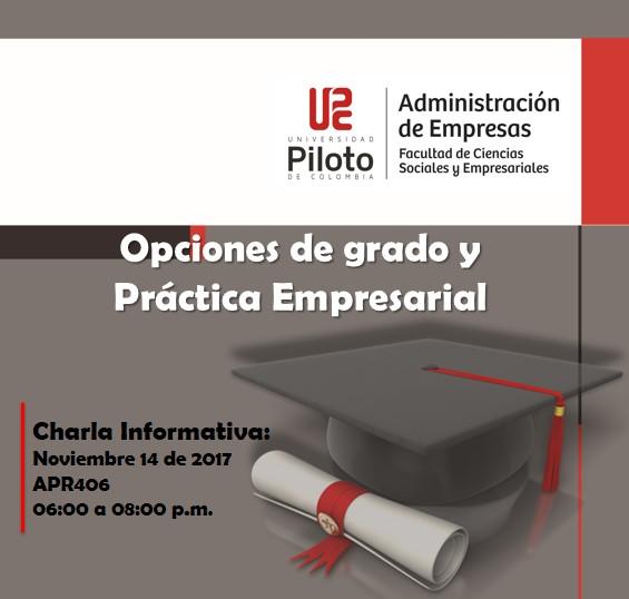 Opciones de Grado 2017-03