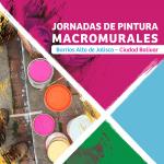 Jornadas de pintura Macromurales Barrio Altos de Jalisco / Resultados