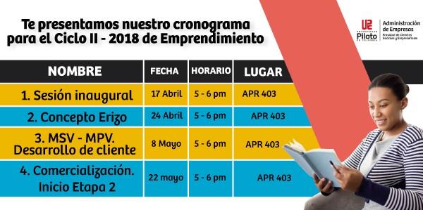 CicloII_Emprendimiento_Cronograma