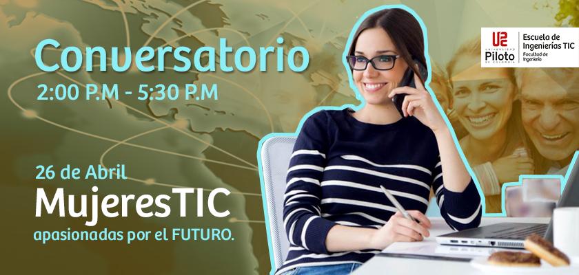 Conversatorio  Mujeres TIC