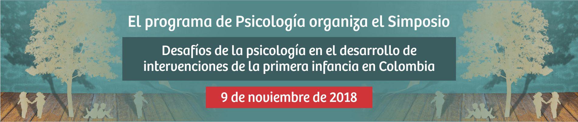 Banner Simposio Psicologia