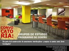 INVITACIÓN A PARTICIPAR EN LOS GRUPOS DE ESTUDIO DE LOS PROGRAMAS DE DISEÑO
