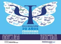 CELEBRACION 20 AÑOS DEL PROGRAMA DE PSICOLOGIA DE LA UNIVERSIDAD PILOTO DE COLOMBIA