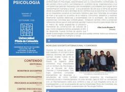 Boletín Psicología al Día Septiembre 2016