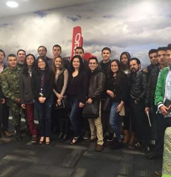 Visita a las Instalaciones Oracle Colombia
