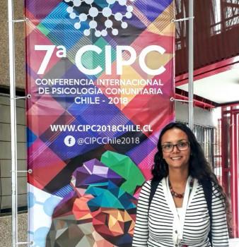 La docente investigadora Diana Carolina Urbina participa en la Séptima Conferencia Internacional de Psicología comunitaria