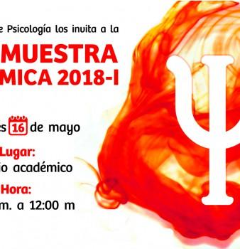 PSICOMUESTRA ACADÉMICA 2018-1