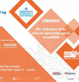 """Seminario  """"ODS, catalizadores de los esfuerzos empresariales por la sostenibilidad"""""""
