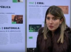 LA EGRESADA DANIELA MARTÍNEZ REALIZA PRESENTACIÓN DE SU LIBRO PARA PERSONAS CON DISCAPACIDAD VISUAL