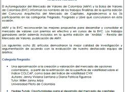 Concurso Arquitectos del Mercado Capitales 2014