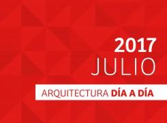 DÍA A DÍA ARQUITECTURA / CRONOGRAMA / JULIO – 2017