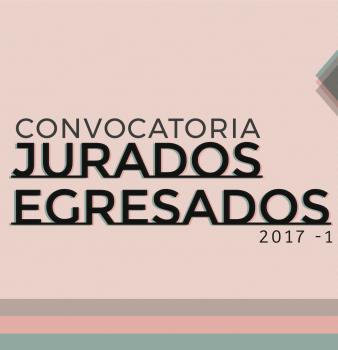CONVOCATORIA JURADO EGRESADOS