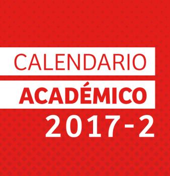 Calendario Académico 2017 – 2