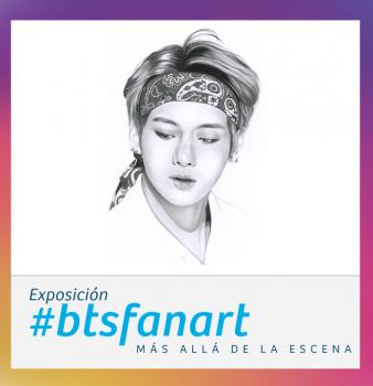 """#btsfanart """"Más allá de la escena"""""""