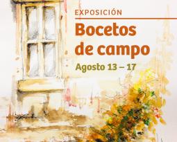EXPOSICIÓN BOCETOS DE CAMPO // SEMILLERO DIBUJO SD+AA