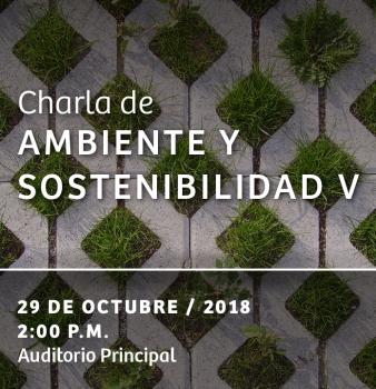 CHARLA DE AMBIENTE Y SOSTENIBILIDAD V // ARQUITECTURA + ENTORNO NATURAL