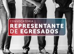 CONVOCATORIA // REPRESENTANTE DE EGRESADOS