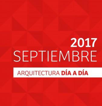 DÍA A DÍA ARQUITECTURA / CRONOGRAMA / SEPTIEMBRE – 2017