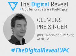 Clemens Preisinger en el XI Seminario Internacional de Arquitectura. The Digital Reveal: Arquitectura de la era Post-Digital #TheDigitalRevealUPC