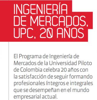Ingeniería de Mercados, UPC, 20 Años.