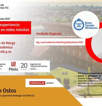 Conferencias Escuela de Ingenierias TIC 2017