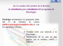 CONCURSO REVISTA ESTUDIANTIL