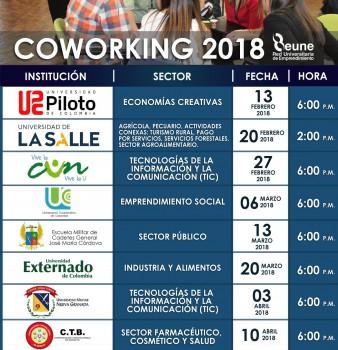 Coworking REUNE 2018