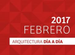 Día a día Arquitectura / Cronograma / Febrero – 2017