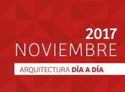 DÍA A DÍA ARQUITECTURA / CRONOGRAMA / NOVIEMBRE – 2017