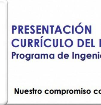 CURRÍCULO PROGRAMA DE INGENIERÍA FINANCIERA