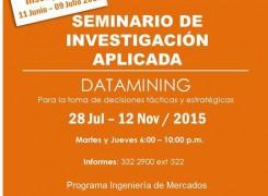 SEMINARIO DE INVESTIGACIÓN APLICADA: DATAMINING