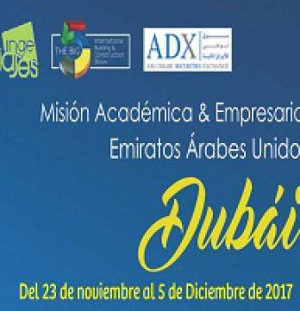 Misión Académica y Empresarial Dubai 2017.