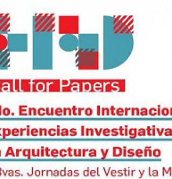 2do. Encuentro Internacional: Experiencias Investigativas en Arquitectura y Diseño