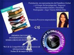 Primer Encuentro Interistitucional de Semilleros de Investigación