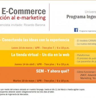 """Taller """"El Arte del E-Commerce: De la Ideación al E-Marketing."""