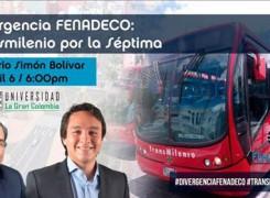 """Evento Divergencia """"FENADECO"""" Transmilenio por la séptima"""