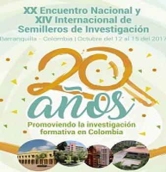 XX Encuentro Nacional y XVI Internacional de Semilleros de Investigación.