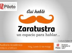 Espacio así hablo Zaratustra