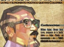 Conferencia: El pensamiento de Estanislao Zuleta, la paz y el momento político que vive Colombia