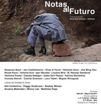 "EXPOSICIÓN: ""NOTAS AL FUTURO"""
