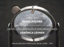 """EXPOSICIÓN: """"ANTE-OJO Y DEFECTOS LINEALES O DISLOCACIONES"""""""