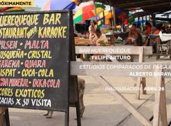 EXPOSICIÓN: BAR HUEREQUEQUE Y ESTUDIOS COMPARADOS DE PAISAJE