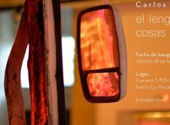 EXPOSICIÓN: EL LENGUAJE DE LAS COSAS MUERTAS DE CARLOS CASTRO ARIAS