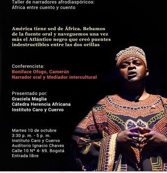 CONFERENCIA: ÁFRICA ENTRE CUENTO Y CUENTO