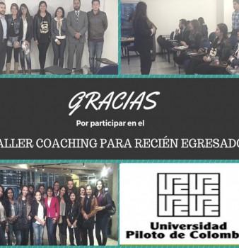 Taller Coaching para Recién Graduados 2015-III – 2016- 1