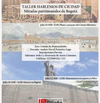 """II Taller Intersemestral """"Hablemos de Ciudad"""""""