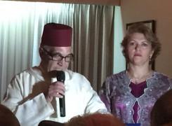Fiesta del trono Marroquí en Colombia